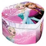 Disney Jégvarázs szív alakú ékszertartó doboz, pink