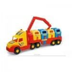 Wader: Szuper szemétgyűjtő kamion 80 cm