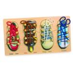 Cipőfűzős játék és puzzle