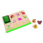 Pecsét és puzzle farm