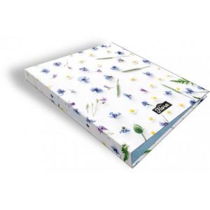 Geo Flora virágmintás gyűrűskönyv