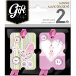 Masnis ajándékkísérő kártya, 2 db-os - M03
