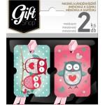 Masnis ajándékkísérő kártya, 2 db-os - DMA02