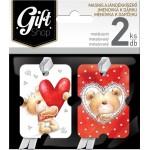 Masnis ajándékkísérő kártya, 2 db-os - DMA03