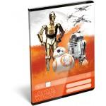 Tűzött füzet A/5 2.osztály - Star Wars 7, Robots