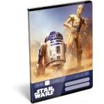 Tűzött füzet A/5 1. osztályos -  Star Wars Classic, Droids
