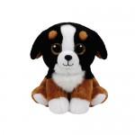 TY Beanie Babies: Roscoe kölyök kutya plüssfigura - 15 cm