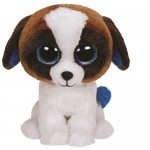 TY Beanie Boos: Duke kutyus plüssfigura - 15 cm