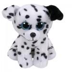 TY Beanie Babies: Catcher dalmata kölyök kutya plüssfigura - 15 cm