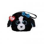 Ty Gear: Tracey fekete-fehér kutya csuklótáska - 10 cm