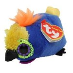Teeny Ty: Diva papagáj plüssfigura - 10 cm