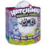 Hatchimals: Fabula erdei bagoly lila tojásban- Spinmaster