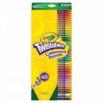 Crayola Csavarozható Színes Ceruza, 40 darabos