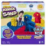 Kinetic Sand - Mancs Őrjárat szett