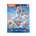 Mancs őrjárat 25 darabos tetováló készlet
