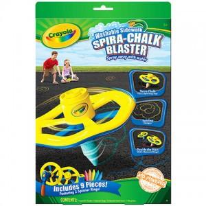 Crayola: Spirálozó aszfaltkréta készlet