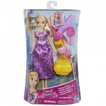 Disney Hercegnők: Aranyhaj színváltós hajú baba - Hasbro