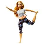 Barbie Mozgásra Tervezve: sötét szőke hajú jóga Barbie