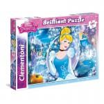 Clementoni 104 darabos Csipkerózsika csillogó puzzle