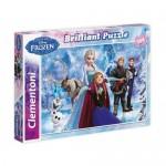 Clementoni 104 db-os Jégvarázs csillogó puzzle