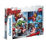 Clementoni 3x48 darabos Avengers puzzle