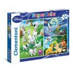 Clementoni 3x48 darabos Disney Klasszikusok puzzle