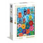 Clementoni baglyok 500 darabos puzzle