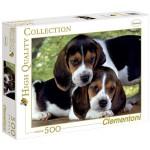 Clementoni 500 darabos kiskutyák puzzle
