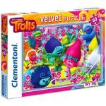 Clementoni  60 darabos Trollok puzzle - bársonyos