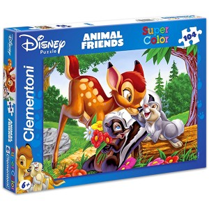 Clementoni Bambi 104 darabos puzzle