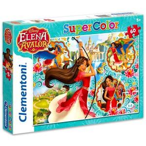 Clementoni Elena, Avalor hercegője 60 darabos Super Color puzzle