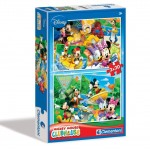 Clementoni Mickey Egér és barátai  2x20 darabos puzzle