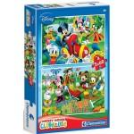 Clementoni Mickey egér farm kalandjai 2x60 darabos puzzle