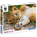 Clementoni oroszlánkölyök 250 darabos puzzle