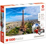 Clementoni Párizs 1000 darabos VR puzzle