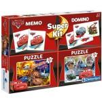 Clementoni puzzle 2x30 darabos Verdák memória és dominó