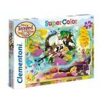 Clementoni 104 db-os Szuper Színes puzzle - Aranyhaj - A sorozat (27084)