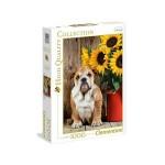 Clementoni 1000 db-os puzzle - Bulldog (39365)