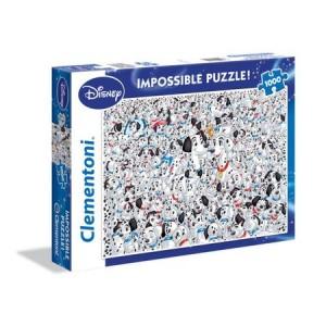 Clementoni 1000 db-os puzzle - A lehetetlen puzzle - 101 Kiskutya (39358)