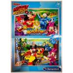 Clementoni: Mikiegér Roadster Racers 2 az 1-ben puzzle