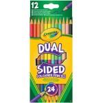 Crayola Kétvégű színes ceruza 12db