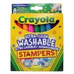 Crayola 8 db kimosható extra nyomdafilc