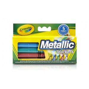 Crayola metálszínű filctollak