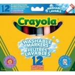 Crayola vastag kimosható filctoll 12 db