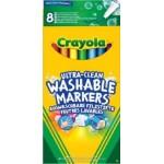 Crayola vékony kimosható filc 8 db
