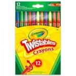 Crayola csavarozható zsírkréta 12 darabos