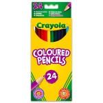 Crayola Hosszú extra puha színes ceruza - 24 db