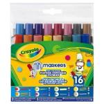 Crayola Különleges hegyű filc 16db-os