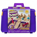Kinetic Sand - homokgyurma szett hordozható kofferben