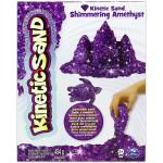 Kinetic Sand: Homokgyurma -csillámló ametiszt színű, 454 gramm